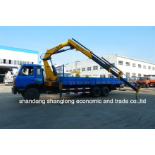 XCMG 10 Ton Truck Mounted Crane Telescopic Arm Crane