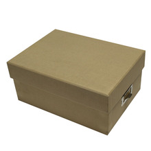 Recycle Brown Kraft Paper Box Dengan Kartu Nama