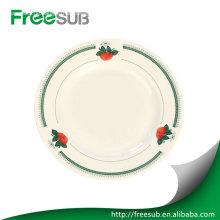"""Customed 8"""" Blume Sublimation Platten Rohlinge"""