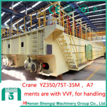 Heavy Duty Lifting Molten Steel-Yz300/75t-35m Foundry Crane