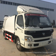 china manufacturer foton garbage compactor truck