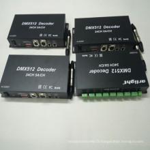 Contrôleur de Gradateur LED DMX RGB 24 Canaux
