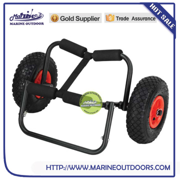 folding hand trolley with two wheels