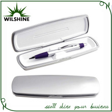Plastic Silver Pen Box for Single Pen Set (BX025)