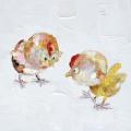 Watercolour Cartoon Chicken Canvas Print
