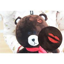 Baru Custom Soft Brown Bear Toy Plush