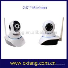 dois modos de segurança de montagem de câmera de cctv sem fio de áudio