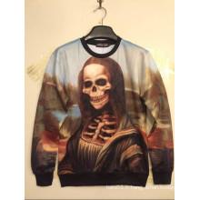 Chemise imprimée Mona Lisa Skull Long Sleeve