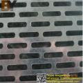Metal perforado con agujero oblongo de la ciudad de Anping