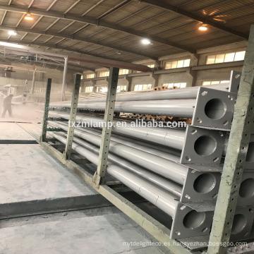 precio al por mayor de la venta caliente en China antiguo poste de la lámpara de hierro fundido