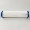 Water treatment multi-fold filter 1micron