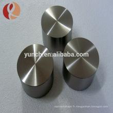 Cible de pulvérisation de TiAl en alliage d'aluminium titane