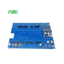 China Customized Case Assembly, Cable Assembly PCB circuit board manufacturer blue soldermask