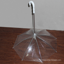 Transparent PVC Pet Dog Umbrella Special Shape