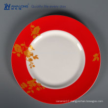 Flower Drawing Wholesale Tableware, Bone China Tableware For Sale