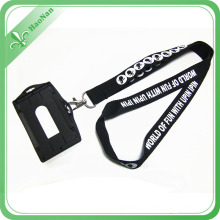 New Design Polyester ID Card Holder Lanyard for Exhibition