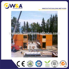 Bâtiment préfabriqué Container Modular House of Steel Structure Frame for Sale