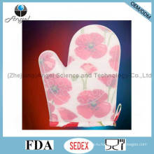 Перчатки коротких и толстых силиконовых перчаток Sg21