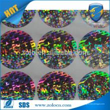 Achetez en gros directement de l'autocollant adhésif en Chine autocollant bon marché holographique personnalisé