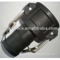 Type C Female Coupler x Hose Shank camlock coupling