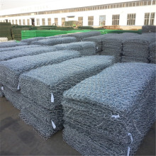 Panier en gabion galvanisé de 2,7 mm anping maillage hexagonal