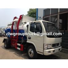 DFAC 8CBM Mobile Kitchen Waste Garbage Truck