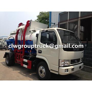 DFAC 8CBM Mobile Kitchen Waste Lessive
