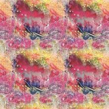 Digital Print Silk Fabric for Banner (XF-0069)