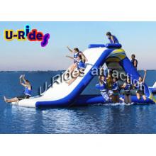0.9mm PVC Tarpaulin Inflatable Water Slide Used in Sea