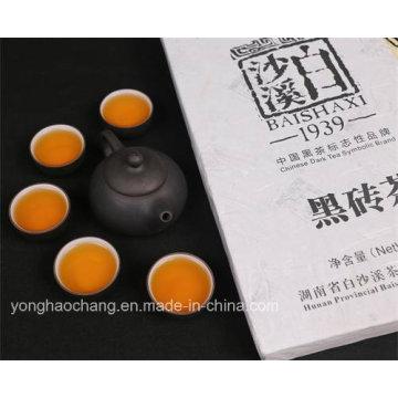 Китай Hunan Baishaxi кирпич Темный чай Органический чай / здоровья чай / для похудения чай