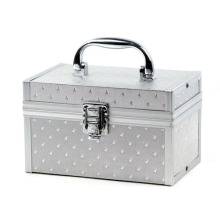 Aluminum Makeup Box Beauty Cosmetic Case (HX-W3641)