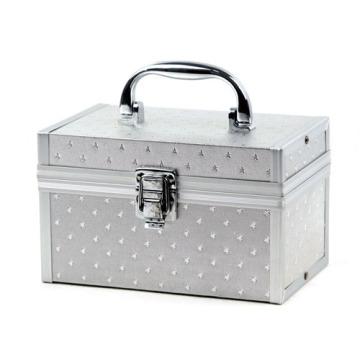 Caisse cosmétique en aluminium de beauté de boîte de maquillage (HX-W3641)