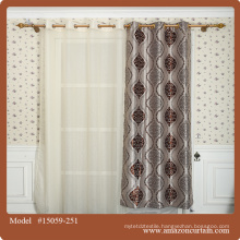 Cheap hotel 100%polyester Jacquard blackout curtains