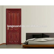 Projeto de porta de madeira mdf / hdf / pvc / melamina, design de madeira de porta, design de madeira de porta interior