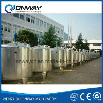 Pl Acero inoxidable Emulsificación Mezclador Tanque Mezclador de aceite Mezclador Mezclador de calefacción eléctrica Mezclador Evaporador