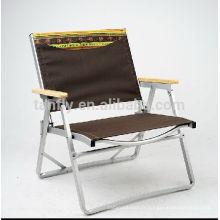 Pliante chaise de camp de châssis en aluminium avec le prix concurrentiel de haute qualité.