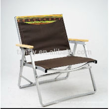 High quality folding aluminum frame camp chair with competitive price.