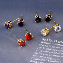 21782 Xuping Special Price Zircon Elegant Fashion Jewelry Earring Pin or Studs