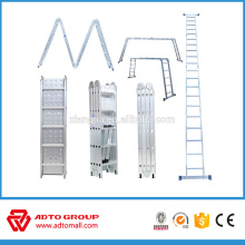 High quality Aluminum multifunction ladder, step ladder,multi purpose ladder