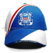 Personalizado de algodón sarga bordado sándwich de deporte de béisbol (TMB6224)