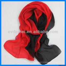 Vogue lady chinois foulard en soie d'été
