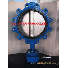 Cast Iron Butterfly Valve with Lug Wafer