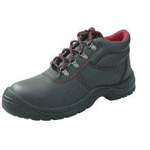 Zapatos de seguridad de diseño básico de corte medio