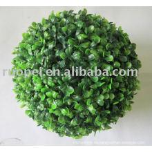 Bola de hierba artificial / Bola de hierba de boj Artificial de plástico decorativo