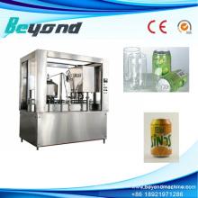 Máquina de llenado automática de lata de jugos no carbonatados