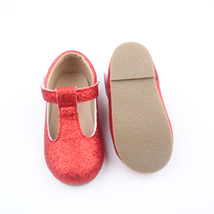 Glitter T Bar Shoes