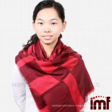 Best-selling Modal and wool blend plaid scarf shawl for women