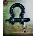 El grillete D-RING es de acero electro-galvanizado de alta calidad TIPO DE EE. UU.