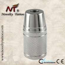 N304020-25mm Stainless Steel Tattoo Tube Grip with Back Stem for Machine