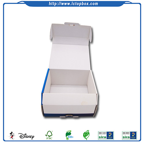 Custom logo printed corrugated paper boxes